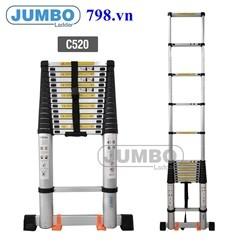 Thang Nhôm Rút Đơn Jumbo C520