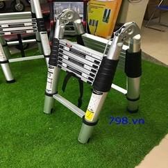 Thang Nhôm Rút Chữ A Hakachi HM-16CP 5m