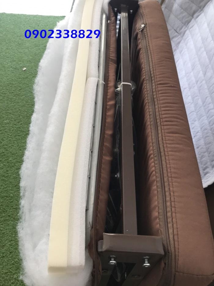 nệm giường xếp kiểu hàn quốc
