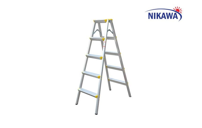 Thang nhôm gấp chữ A Nikawa NKD- 05